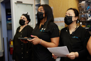 Just Smiles uses composite dental fillings to fix cavities in their Hilliard patients.