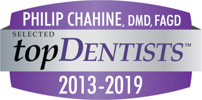 Hilliard dentist Dr. Phil Chahine, DMD, FAGD is a topDentists award receipient from 2013-2019.